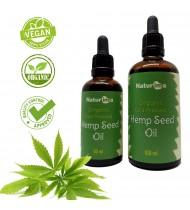 Organic Cold Pressed Unrefined Hemp Seed Oil