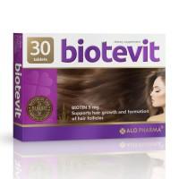 Biotevit Hair Biotin Growth Vitamins 30 Tablets