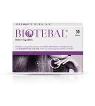 Biotebal Biotin 5mg Hair & Nail Growth Supplement