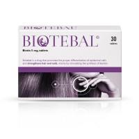 Biotebal Biotin 5mg Hair & Nail Growth Supplement
