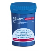 Bicaps Coenzyme Q10 Ubichinon 100mg High Absorption Vegan Antioxidant 60 Caps