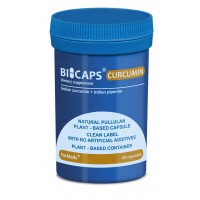 Bicaps Curcumin Extract 380mg Turmeric Vegan Food Supplement 60 Capsules