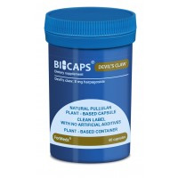 Bicaps Devil's Claw 8mg Harpagoside Vegan Supplement 60 Capsules