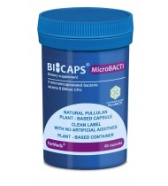 Bicaps Microbacti Probiotic 4 Microencapsulated Bacteria Strains 8 Billion CFU