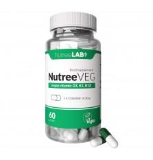 NutreeVeg Vegan Vitamins D, K2, B12