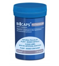 Bicaps Potassium Citrate 360mg Dietary Food Supplement Vegan 60 Capsules