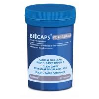 Bicaps Potassium Citrate 360mg Dietary Food Supplement Vegan 60 Capsules