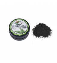Crystal Coco Charcoal Teeth Whitening Powder