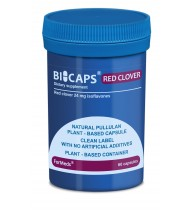 Bicaps Red Clover Extract 300mg Isoflavones Menopause Hormone Balance 60 Capsules