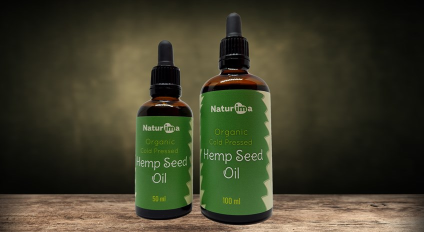 Naturima Cold Pressed Organic Hemp Seed Oil